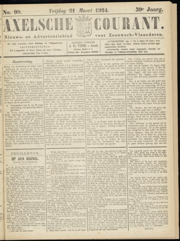 Axelsche Courant 1924-03-21