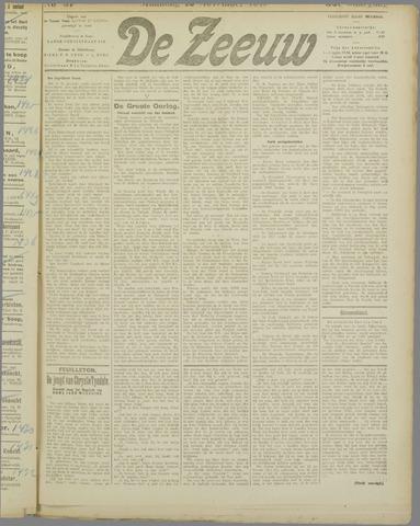 De Zeeuw. Christelijk-historisch nieuwsblad voor Zeeland 1917-11-12