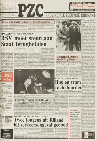 Provinciale Zeeuwse Courant 1984-11-16