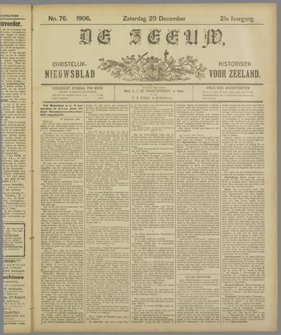 De Zeeuw. Christelijk-historisch nieuwsblad voor Zeeland 1906-12-29