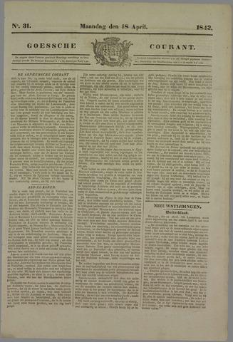 Goessche Courant 1842-04-18