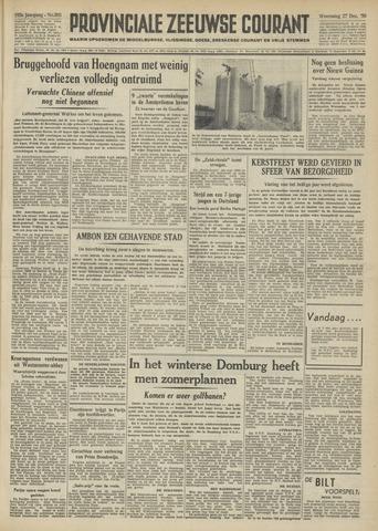 Provinciale Zeeuwse Courant 1950-12-27
