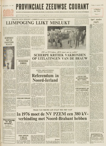 Provinciale Zeeuwse Courant 1972-08-04