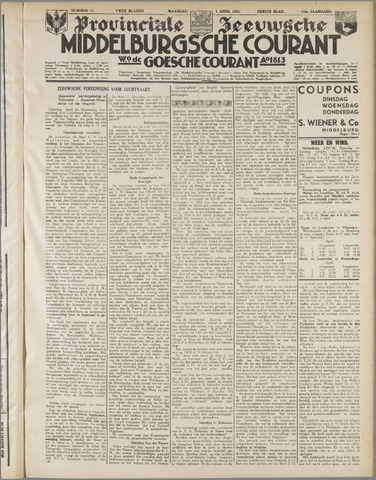 Middelburgsche Courant 1935-04-01