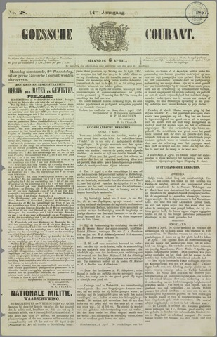 Goessche Courant 1857-04-06