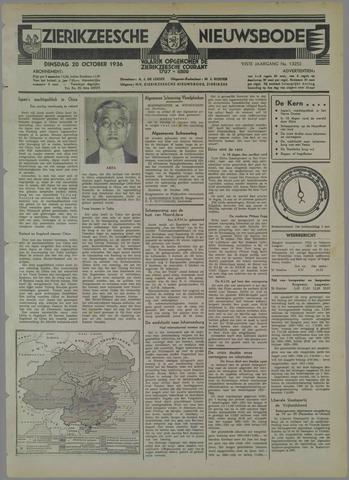 Zierikzeesche Nieuwsbode 1936-10-20