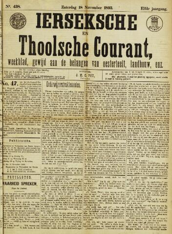 Ierseksche en Thoolsche Courant 1893-11-18