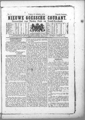 Nieuwe Goessche Courant 1874-01-23