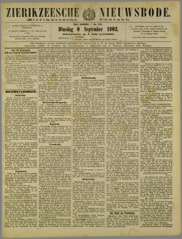 Zierikzeesche Nieuwsbode 1902-09-09