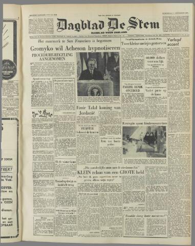 de Stem 1951-09-06