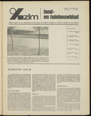 Zeeuwsch landbouwblad ... ZLM land- en tuinbouwblad 1971-08-27