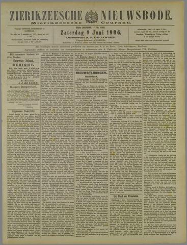 Zierikzeesche Nieuwsbode 1906-06-09