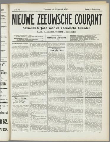 Nieuwe Zeeuwsche Courant 1905-02-18