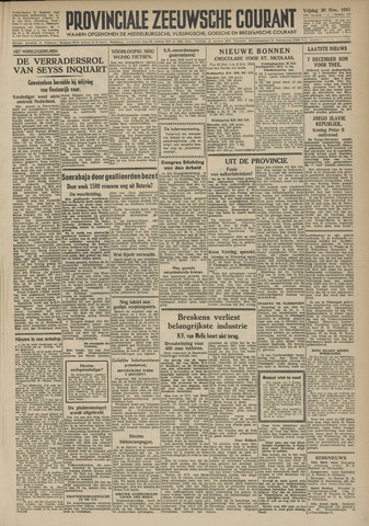 Provinciale Zeeuwse Courant 1945-11-30