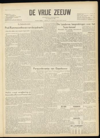de Vrije Zeeuw 1956-08-02