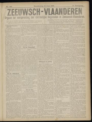 Luctor et Emergo. Antirevolutionair nieuws- en advertentieblad voor Zeeland / Zeeuwsch-Vlaanderen. Orgaan ter verspreiding van de christelijke beginselen in Zeeuwsch-Vlaanderen 1919-06-12