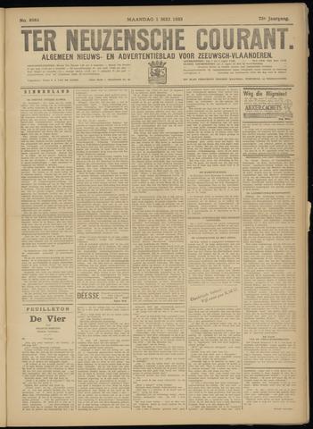 Ter Neuzensche Courant. Algemeen Nieuws- en Advertentieblad voor Zeeuwsch-Vlaanderen / Neuzensche Courant ... (idem) / (Algemeen) nieuws en advertentieblad voor Zeeuwsch-Vlaanderen 1933-05-01