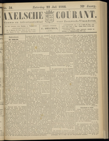 Axelsche Courant 1916-07-22