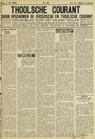 Ierseksche en Thoolsche Courant 1938-07-01