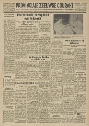 Provinciale Zeeuwse Courant 1948-12-08
