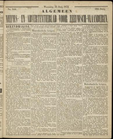 Ter Neuzensche Courant. Algemeen Nieuws- en Advertentieblad voor Zeeuwsch-Vlaanderen / Neuzensche Courant ... (idem) / (Algemeen) nieuws en advertentieblad voor Zeeuwsch-Vlaanderen 1873-06-25