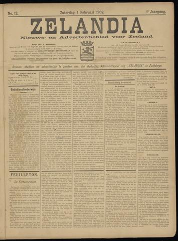 Zelandia. Nieuws-en advertentieblad voor Zeeland | edities: Het Land van Hulst en De Vier Ambachten 1902-02-01