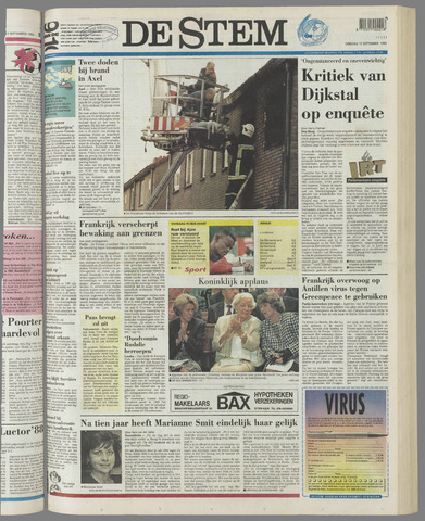 de Stem 1995-09-12