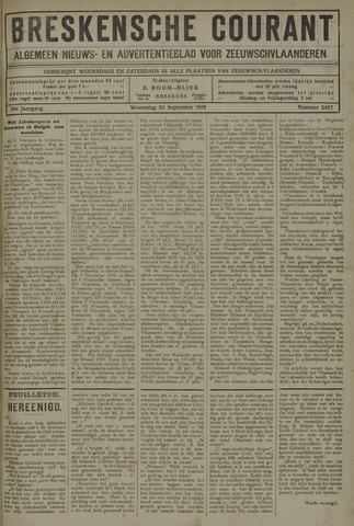 Breskensche Courant 1919-09-24