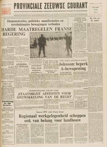 Provinciale Zeeuwse Courant 1968-06-13