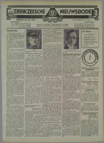 Zierikzeesche Nieuwsbode 1937-07-20