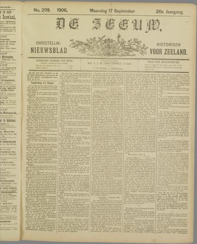De Zeeuw. Christelijk-historisch nieuwsblad voor Zeeland 1906-09-17