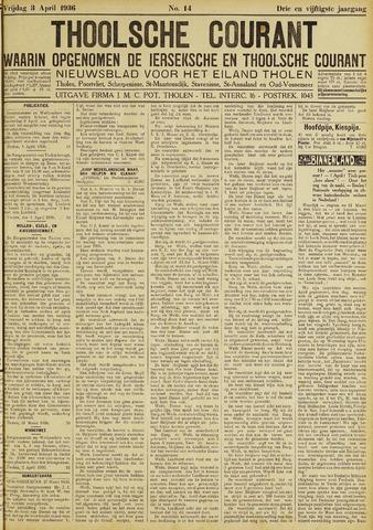 Ierseksche en Thoolsche Courant 1936-04-03