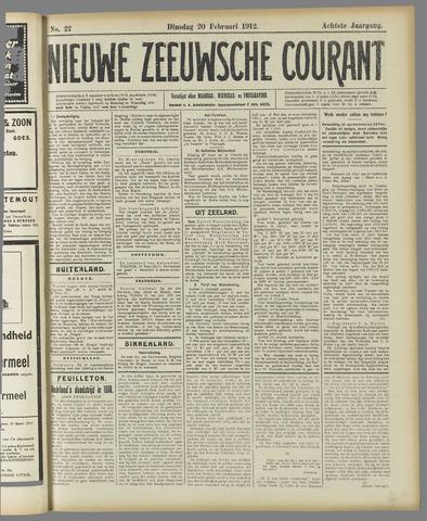 Nieuwe Zeeuwsche Courant 1912-02-20