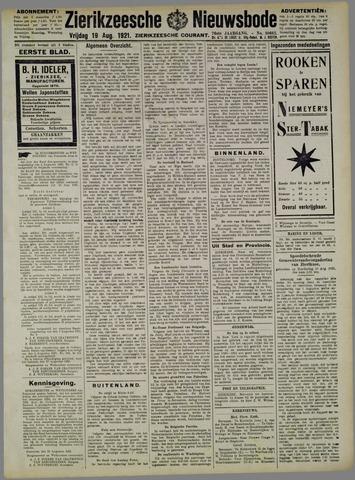 Zierikzeesche Nieuwsbode 1921-08-19