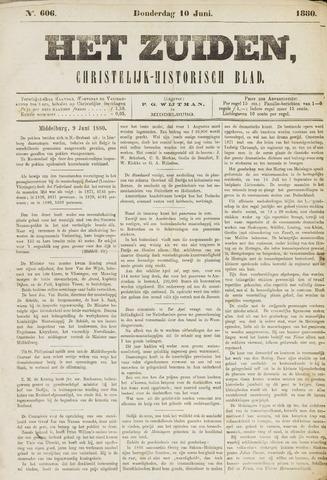 Het Zuiden, Christelijk-historisch blad 1880-06-10