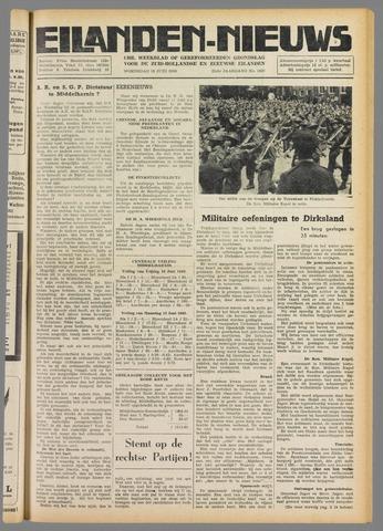 Eilanden-nieuws. Christelijk streekblad op gereformeerde grondslag 1949-06-15