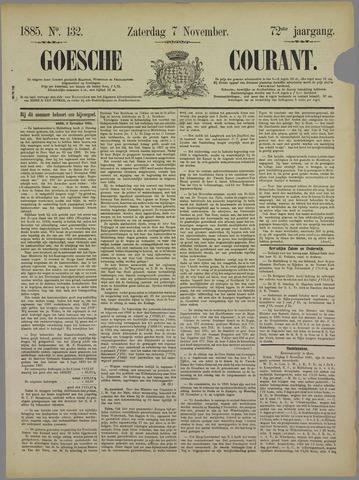 Goessche Courant 1885-11-07