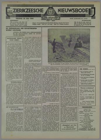 Zierikzeesche Nieuwsbode 1941-07-29