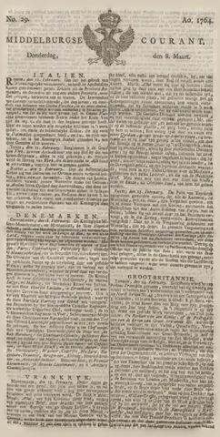 Middelburgsche Courant 1764-03-08