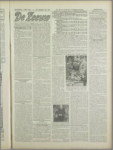 De Zeeuw. Christelijk-historisch nieuwsblad voor Zeeland 1943-07-05