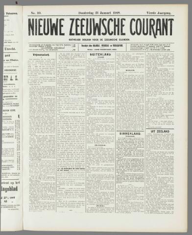 Nieuwe Zeeuwsche Courant 1908-01-23