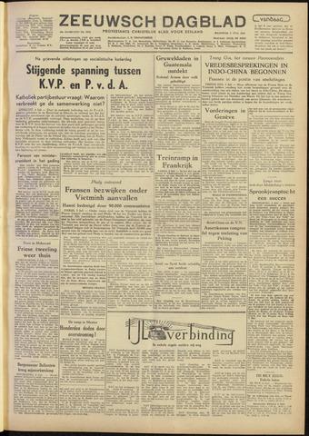 Zeeuwsch Dagblad 1954-07-05
