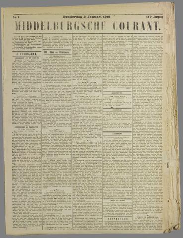 Middelburgsche Courant 1919