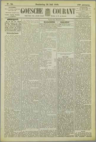 Goessche Courant 1919-07-24