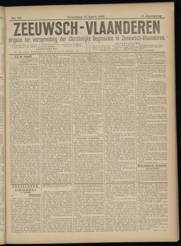 Luctor et Emergo. Antirevolutionair nieuws- en advertentieblad voor Zeeland / Zeeuwsch-Vlaanderen. Orgaan ter verspreiding van de christelijke beginselen in Zeeuwsch-Vlaanderen 1918-04-13