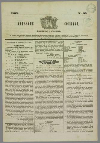 Goessche Courant 1850-11-07