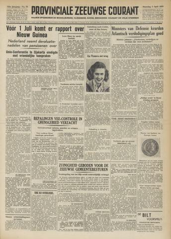Provinciale Zeeuwse Courant 1950-04-03