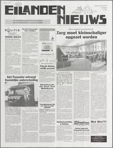 Eilanden-nieuws. Christelijk streekblad op gereformeerde grondslag 2004-11-23