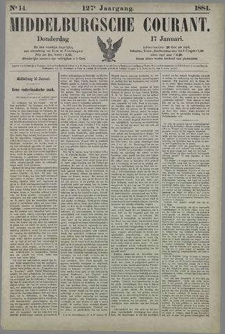 Middelburgsche Courant 1884-01-17