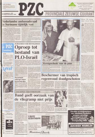 Provinciale Zeeuwse Courant 1988-12-24